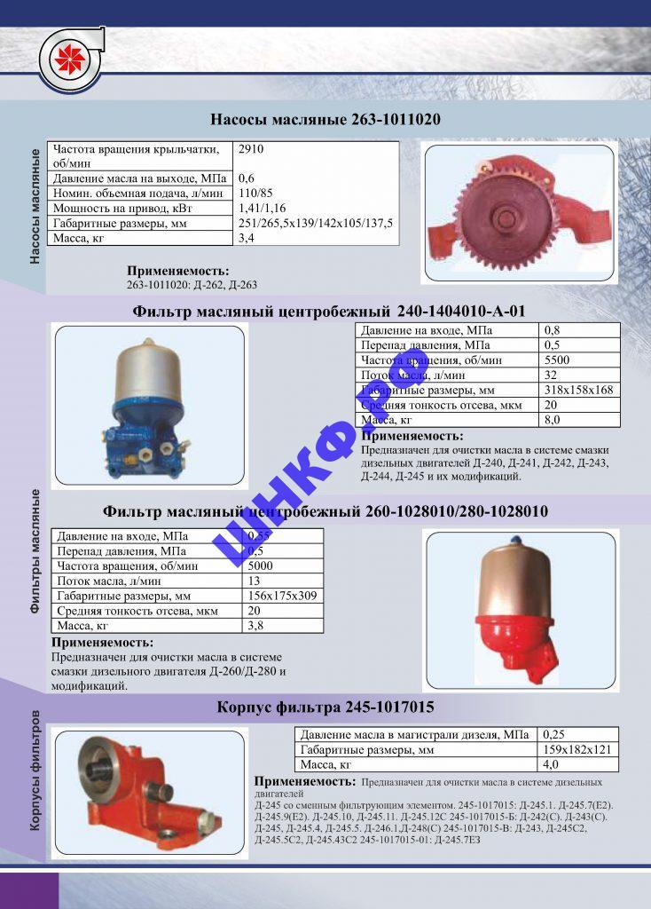 Применение и характеристики насос и фильтра масляные БЗА